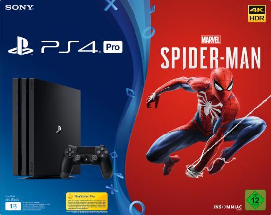 Angebot Media Markt Ps4 Pro Bundle Mit Spider Man Zum Top Preis