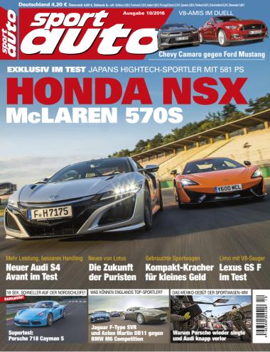 Sport Auto Magazin Oktober No 10 2016