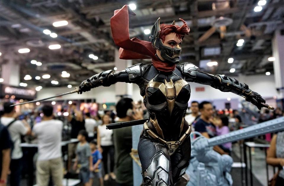 Samurai Series : Batgirl 3qhupj