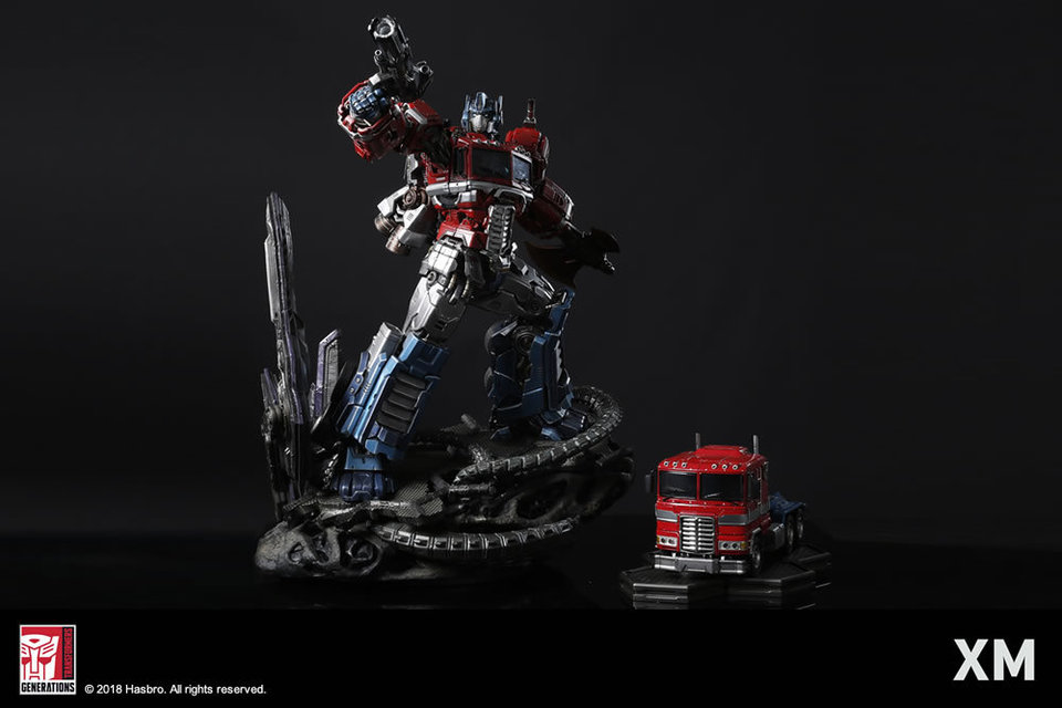 Premium Collectibles : Transformers - Optimus Prime (G1) - Page 2 3reoij