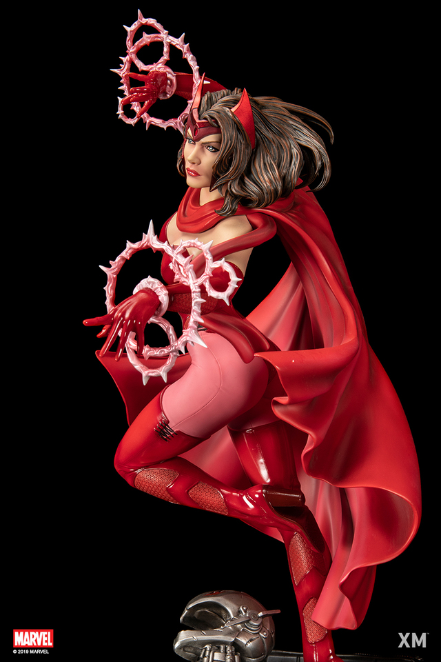 Premium Collectibles : Scarlet Witch** 3scarletwitchllkoe