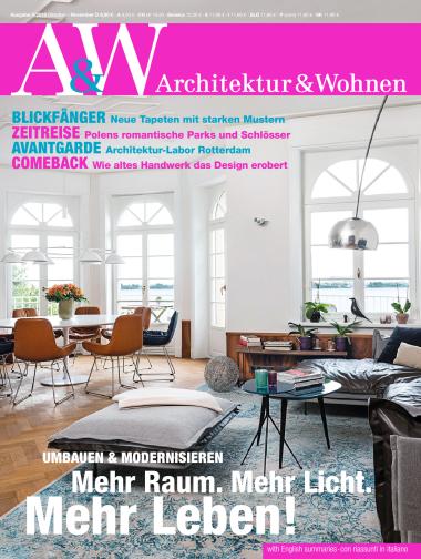 Architektur und wohnen magazin jahresthema 2016 for Magazin wohnen