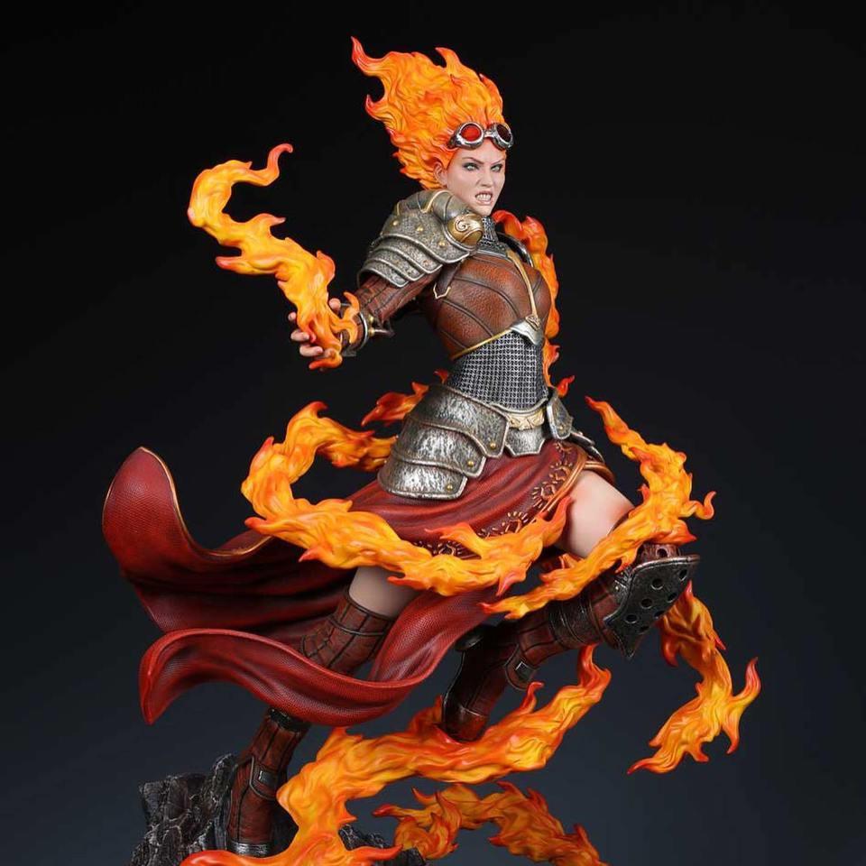 Premium Collectibles : MTG - Chandra Nalaar 1/4 Statue 3xak8k
