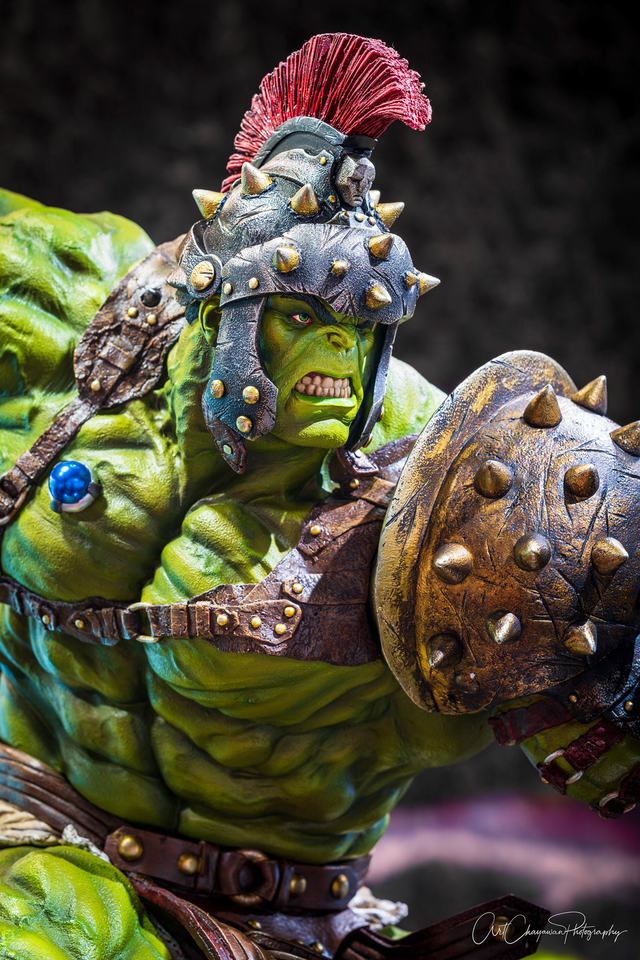 Premium Collectibles : Planet Hulk / King Hulk** 3z3j7x