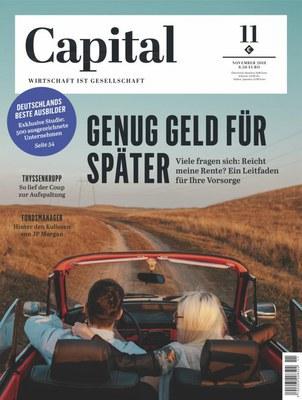 Capital Wirtschaftsmagazin November No 11 2018
