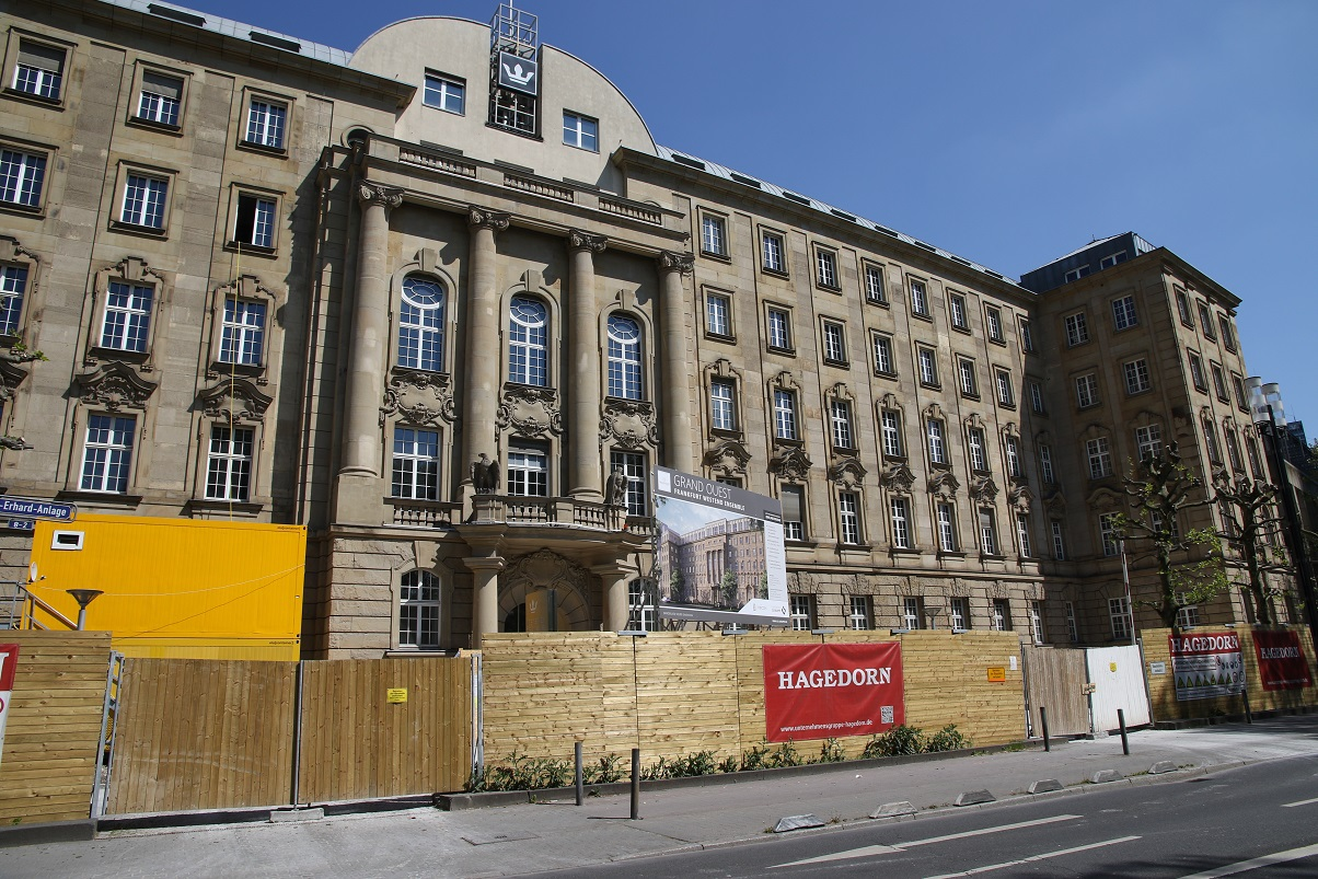 frankfurt umbau oberpostdirektion neubau wohnhochhaus 58m in planung skyscrapercity. Black Bedroom Furniture Sets. Home Design Ideas