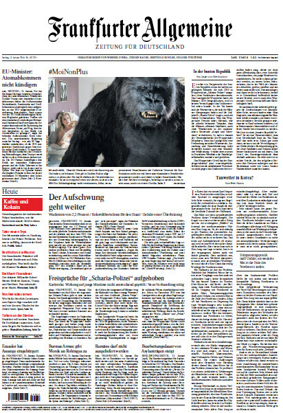 : Frankfurter Allgemeine 12 Januar 2018