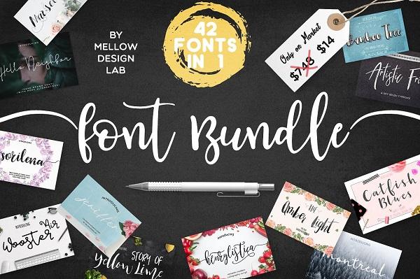 42 Fonts BUNDLE 1126269