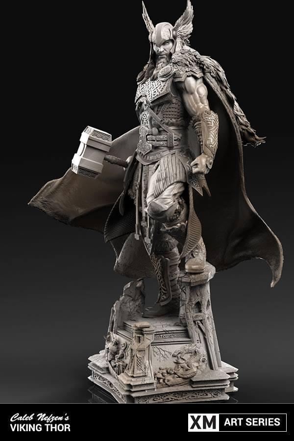Premium Collectibles : Thor by Caleb Nefzen** 444sv7