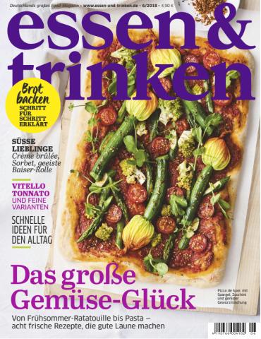 :  Essen und Trinken Magazin Juni No 06 2018