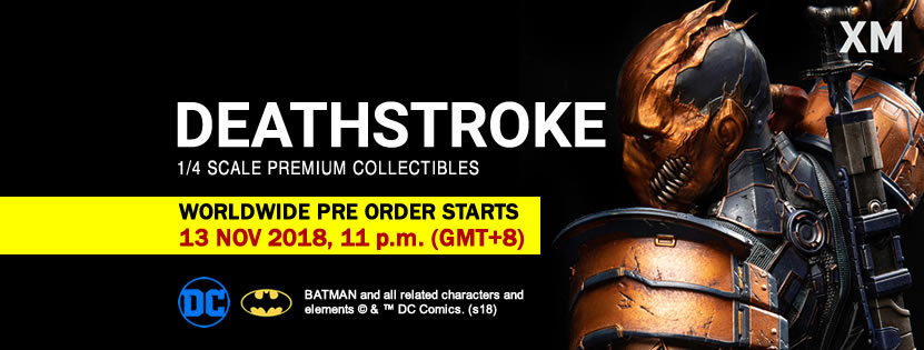 Premium Collectibles : Deathstroke** 45723555_2180843928808sexs