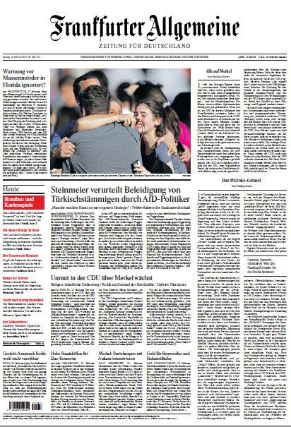 Frankfurter Allgemeine 16 Februar 2018