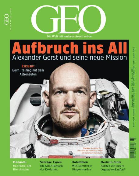 :  Geo Magazin (Die Welt mit anderen Augen sehen) Juni No 06 2018