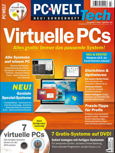PC Welt Sonderheft Virtuelle PCs No 07 2018