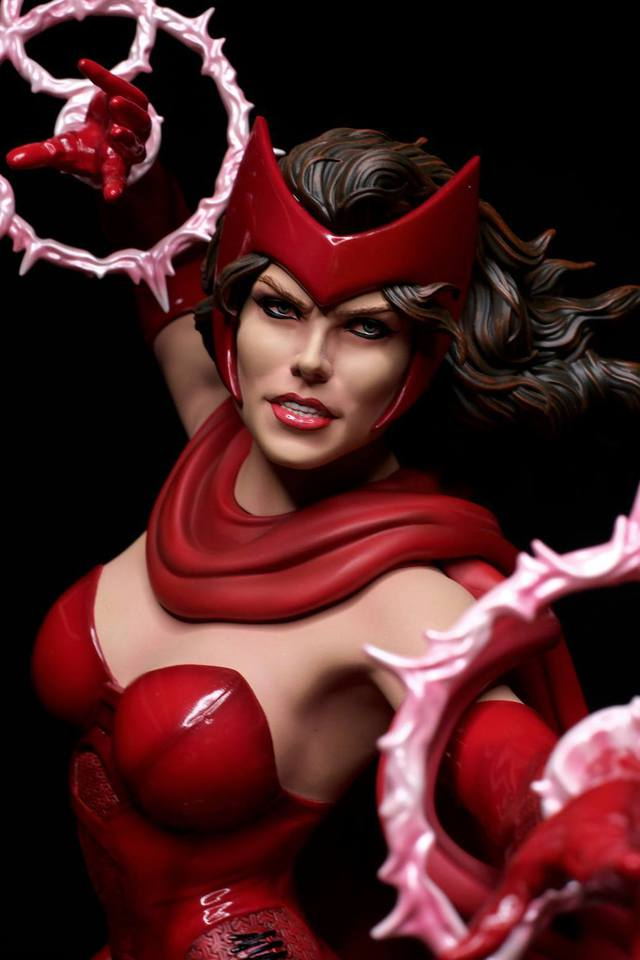 Premium Collectibles : Scarlet Witch** 4ay2j39