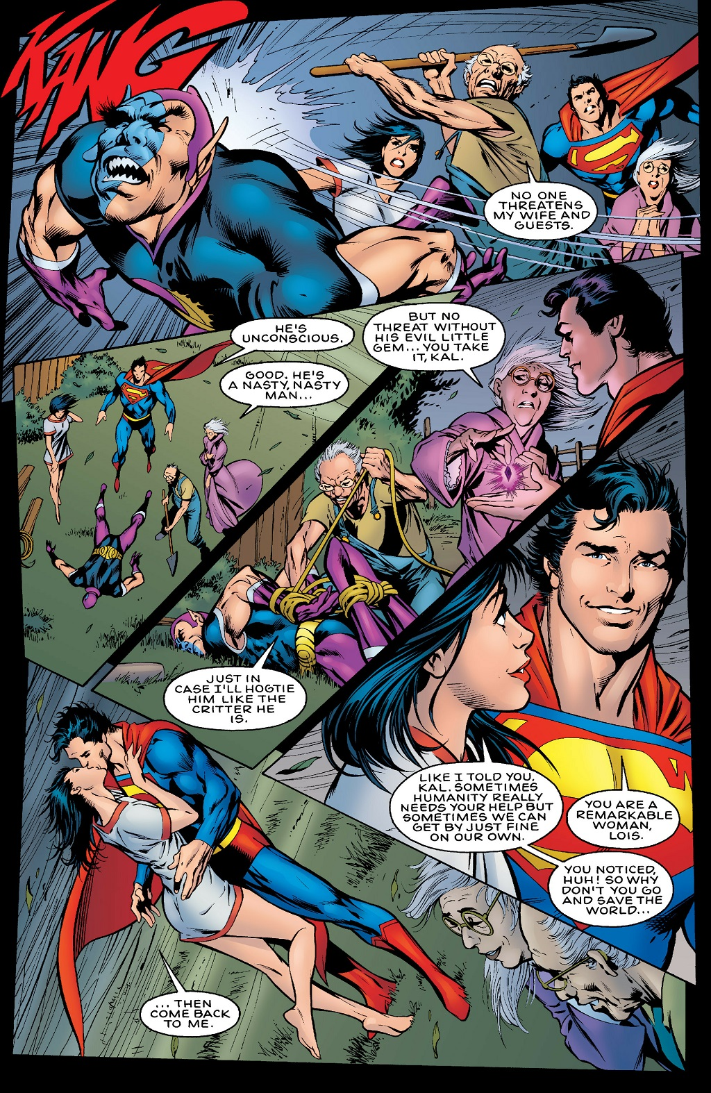 scans_daily | JLA: Another Nail #3