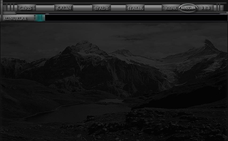 siyah beyaz manzarali tema