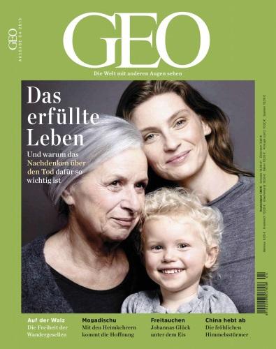 :  Geo Magazin - Die Welt mit anderen Augen sehen April No 04 2018