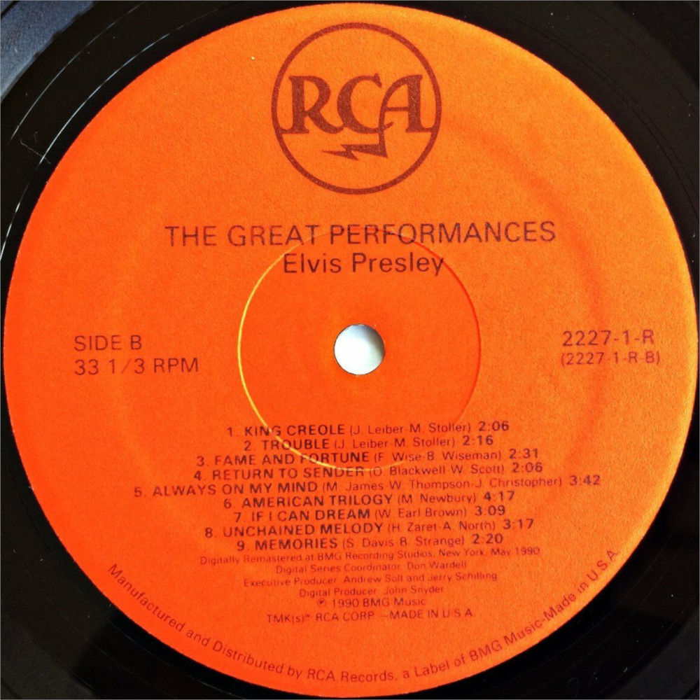 THE GREAT PERFORMANCES 4i6kp3