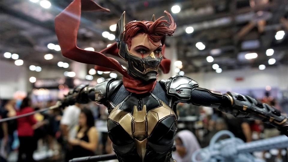 Samurai Series : Batgirl 4lsul2