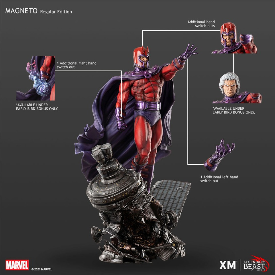Premium Collectibles : Magneto 1/3 4mokqa