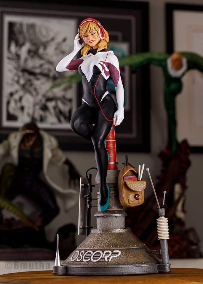 Premium Collectibles : Spider-Gwen 4qsoxd