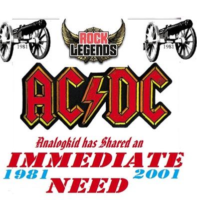 AC/DC - Immediate Need (2017)