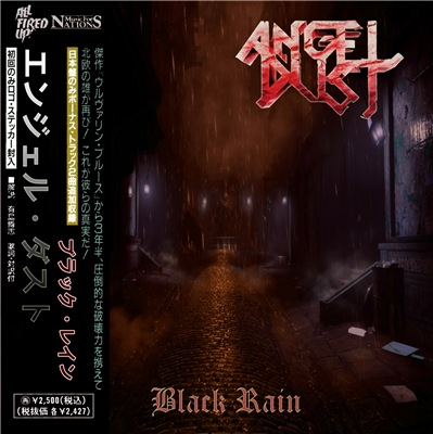 Angel Dust - Black Rain (2018)