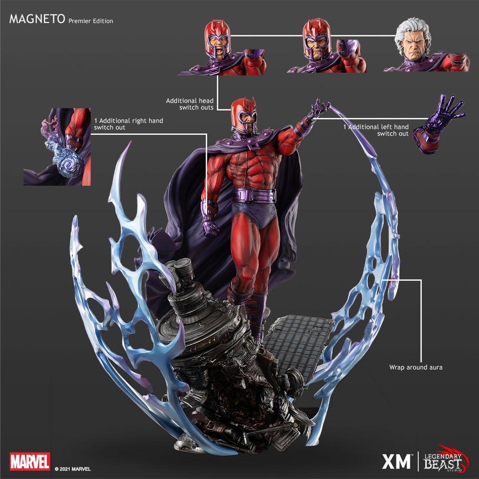 Premium Collectibles : Magneto 1/3 4wak9q