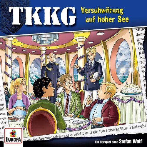 TKKG - Folge 204: Verschwörung auf hoher See (2018)