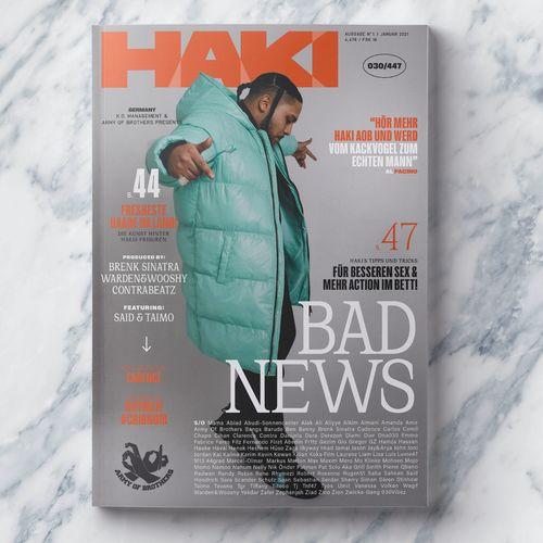 Haki & Aob - Bad News EP (2021)