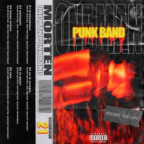 morten - ESCAPE THE CiTY (Level 6 - One Man Punk Band) (2020)