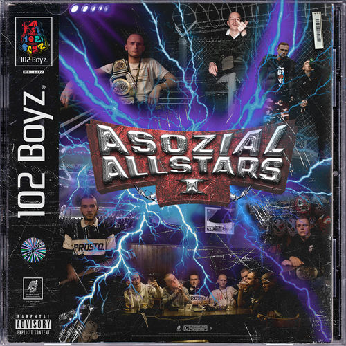 102 Boyz - Asozial Allstars 1 (2018)