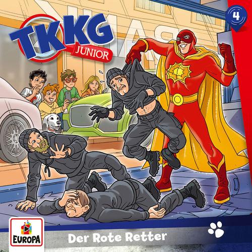 TKKG Junior - Folge 4: Der Rote Retter (2018)