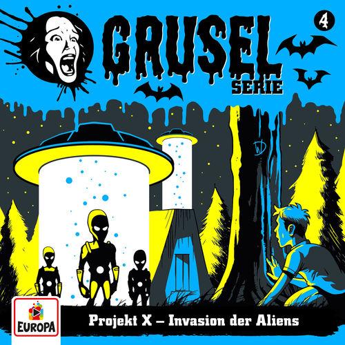 Gruselserie - Folge 4: Projekt X - Invasion der Aliens (2019)