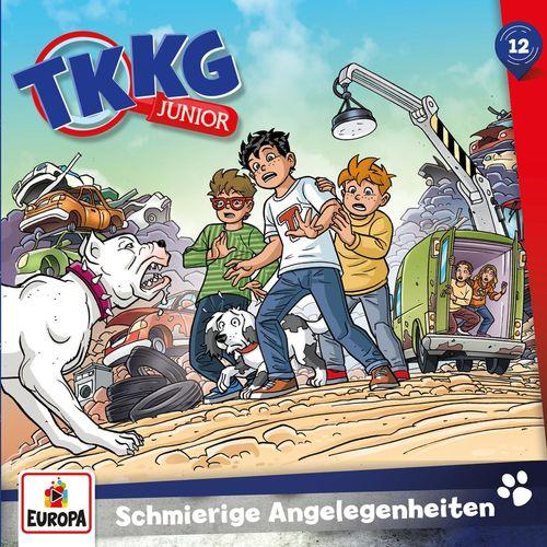 TKKG Junior - Folge 12: Schmierige Angelegenheiten (2020)