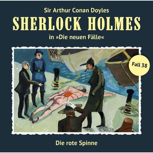 Sherlock Holmes - Die neuen Fälle, Fall 38: Die rote Spinne (2018)