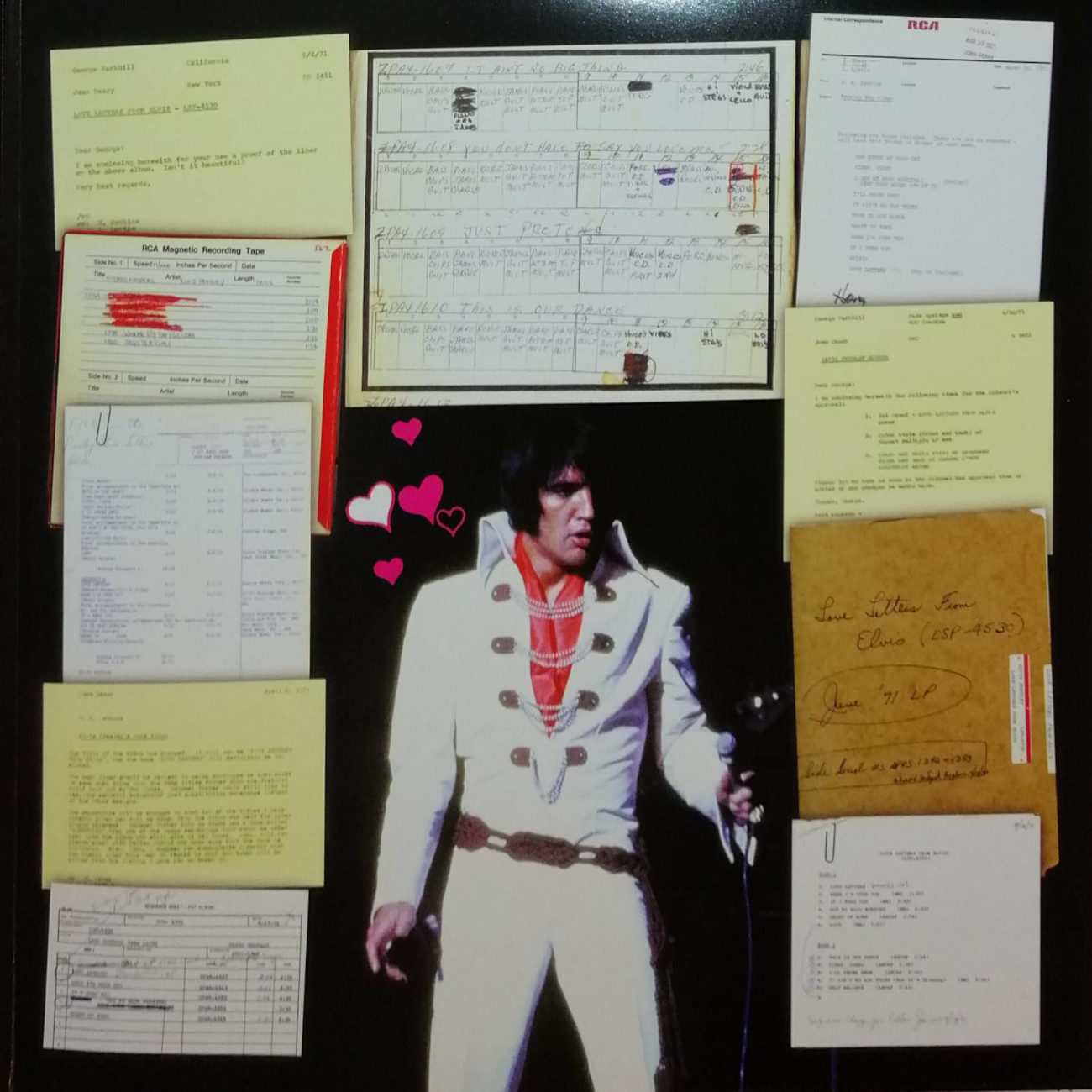 LOVE LETTERS FROM ELVIS 506020-9751434qijhs