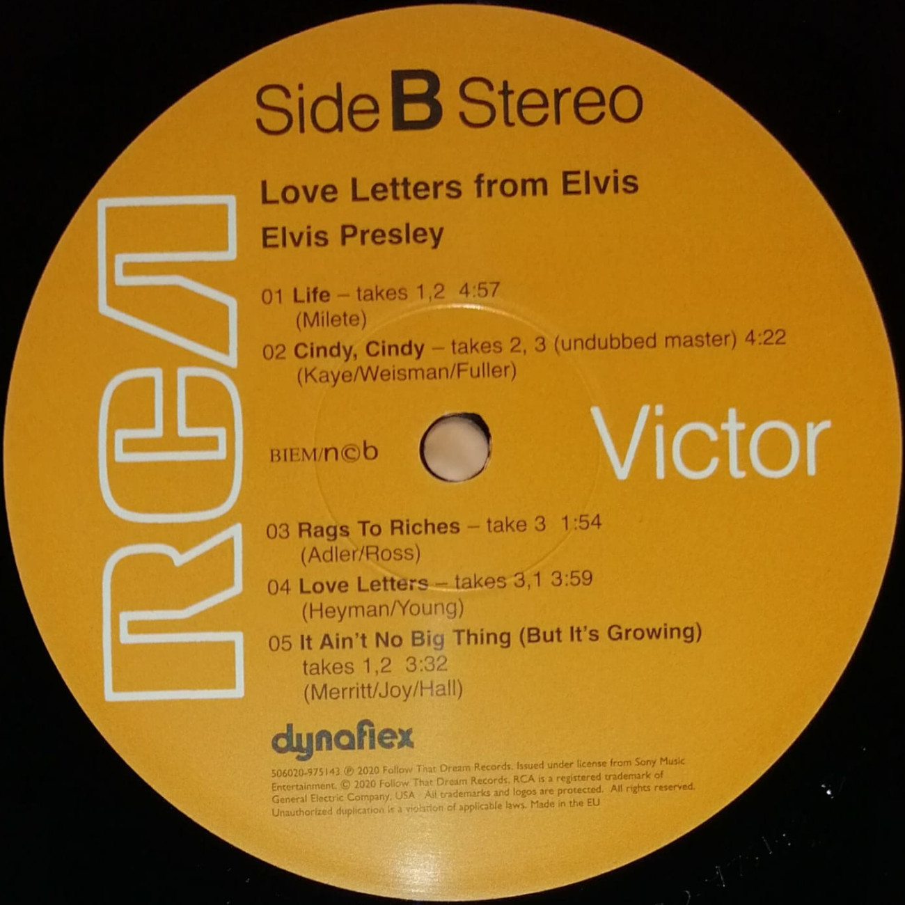 LOVE LETTERS FROM ELVIS 506020-975143743jgm