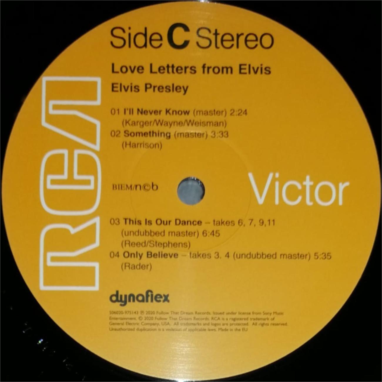 LOVE LETTERS FROM ELVIS 506020-9751438i1kjy
