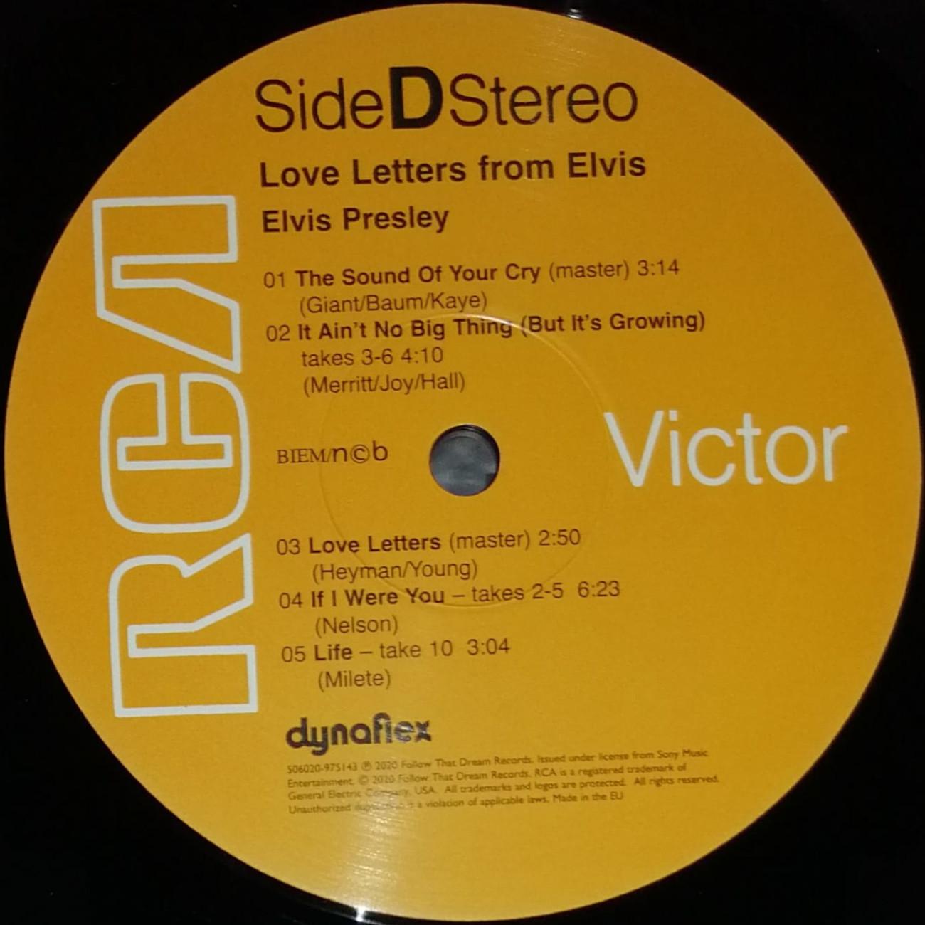 LOVE LETTERS FROM ELVIS 506020-9751439k7jsg