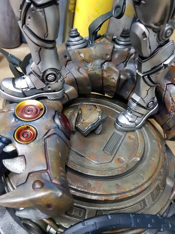 Premium Collectibles : JLA Cyborg 1/6**   54403653_224751282546jgjg0