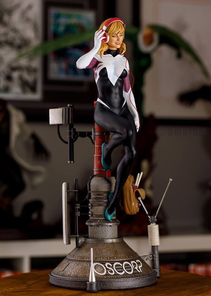 Premium Collectibles : Spider-Gwen 55xqyw