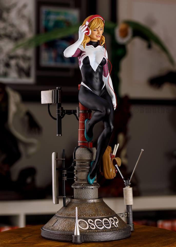 Premium Collectibles : Spider-Gwen 55xqyw