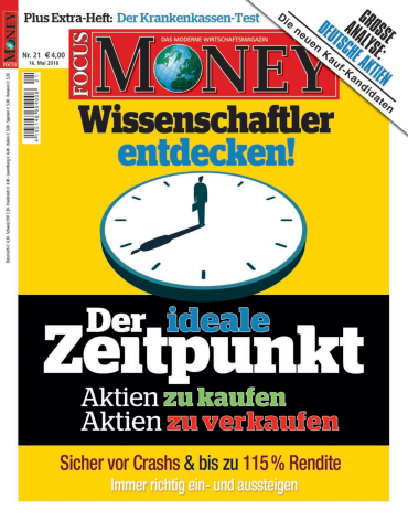 :  Focus Money Finanzmagazin No 21 vom 16 Mai 2018