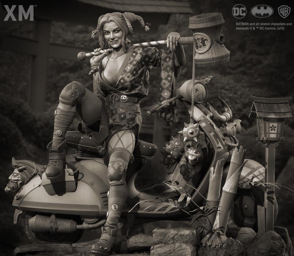 Premium collectibles : Harley Quinn** 57569395_228038914218tqkxc