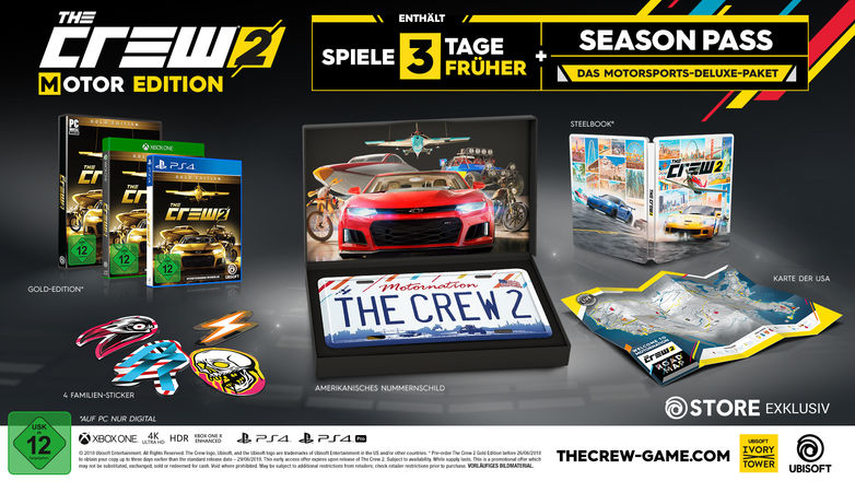 The Crew 2 Overview Different Gameversions Expansion Updates