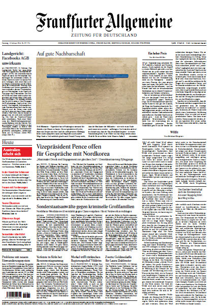 : Frankfurter Allgemeine 13 Februar 2018
