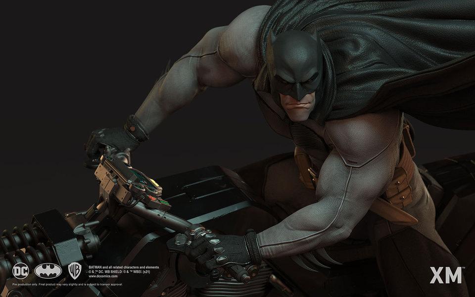 Premium Collectibles : Batman White Knight on Bike1/4 Statue 5e7k6v
