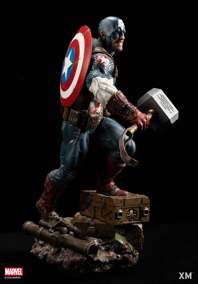 Premium Collectibles : Captain America Ultimate 1/4 Statue 5gfkf6